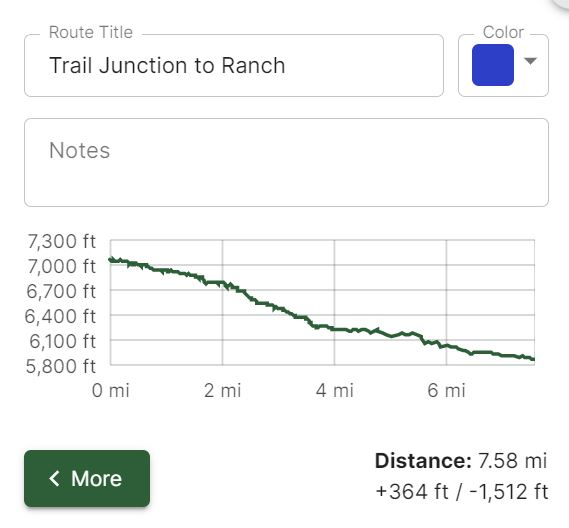 Trail Junction to Ranch Metrics.JPG